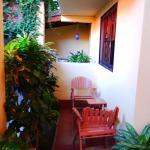 izby na prízemí s malými teraskami
