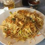 Prawn noodles.. very good