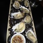 Oysters at Ole Fuego