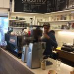 la Marzocco espresso machine and Mazzer grinder!