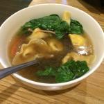 Won ton noodle soup- very good! ����
