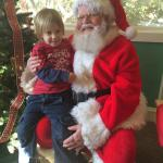 He is not sure about Santa but wanted a camera- okay where did that come from out of the blue!