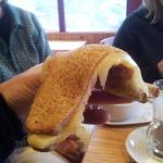 A soggy toastie... yuk