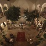 Dining at Riad Cannelle on New Year's Eve