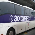 direct bus from airport to st jean