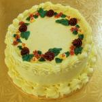 Lemon Cake with Lemon Buttercream