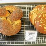2 Breakfast Knots--Prune-Poppy seed and Almond-Raisin