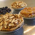 Baby Pies--Apple, Apple-Almond, Blueberry