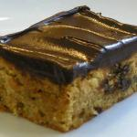 Peanut Butter-Ginger Bar with Chocolate Ganache