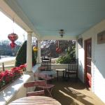 Front Porch of the Puffin Inn