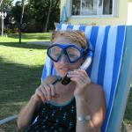 Great snorkeling with manatees!