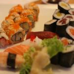 Premium sushi combination