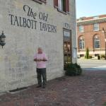 Getting ready to enter Talbott Tavern