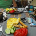 Good Value breakfast at Camel Pensions