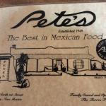 Pete's Cafe