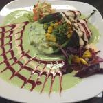 Relleno with veggies