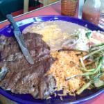Carne Asada (Streak) Plate was Wonderful