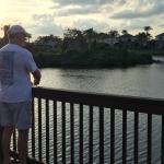 Fishing at nearby Lake Berkley