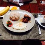 Breakfast - chicken adobo