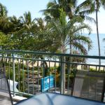 Take in the views from your private balcony