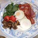 Our fantastic breakfast each morning.