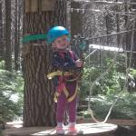 about to zipline