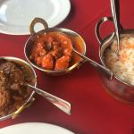 Curries and rice