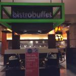 Bistro buffet entrance.