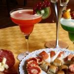 Teste et cocktail
