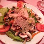 insalata con foie gras