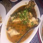 Fish in Thai style