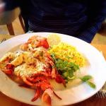 Fresh lobster with rissotto !