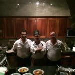 our excellent chef and fine staff