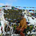 Rajendra at Thorung La Pass
