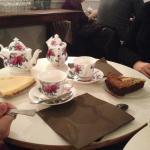 thé et gâteaux
