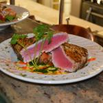 Pepper encrusted Tuna
