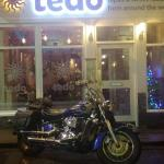 Front of tedos restaurant