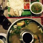 Khao Man Khai and Tom Yum Kung - would recommend these! But the soup portion I asked for one tur