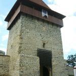 Gatehouse at the Rasnov Citadel