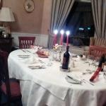 Our delicious private dinner on New Year's Eve