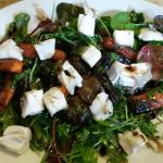 Root veg and goats cheese - yum!