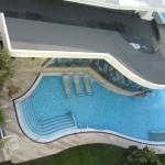 Parte della piscina esterna