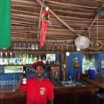Our awesome bartender