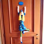 La porta della camera
