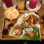 Ultimate Burger Meal £9.95
