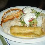 Deborah's Mexican Combo- yum!!