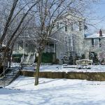 Snowy Winter Avery Guest House