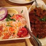 egg biryani and goat curry