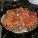 Delicious fried chicken. Yummy!