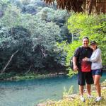 Me and Cindy at Puente de Dios